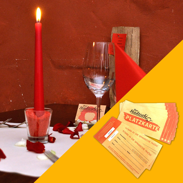 "21.12.19 - Candle-Light-Dinner ""Zimt, Blues & Kerzenlicht"""